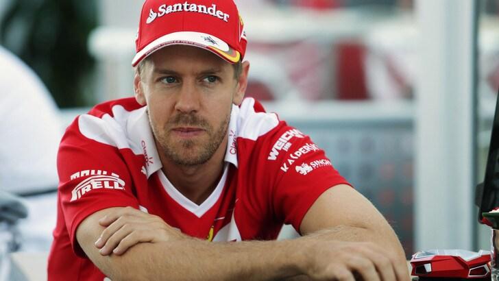 F1 Austin, Vettel: «Feeling non è negativo, soffriamo nel passo»