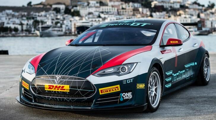 Electric GT, il campionato gran turismo per Tesla Model S