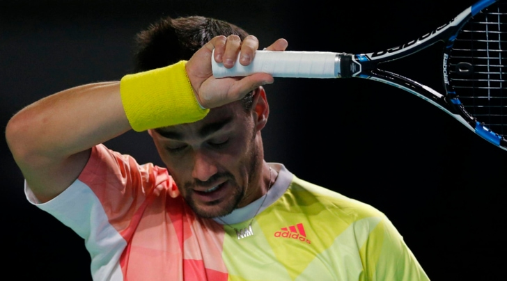 Tennis, Atp Vienna: Fognini eliminato al primo turno da Vinolas