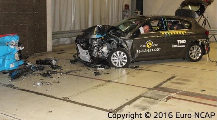 Fiat Tipo alla prova crash test: i risultati