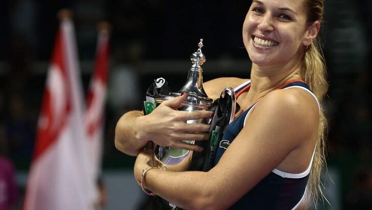 Tennis: Cibulkova vince Masters donne, Kerber ko in due set