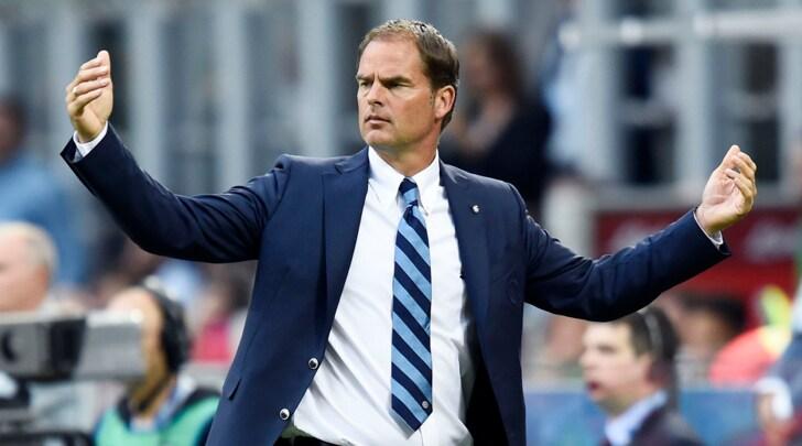 Inter, De Boer: Normali voci di esonero ma ho spogliatoio in pugno