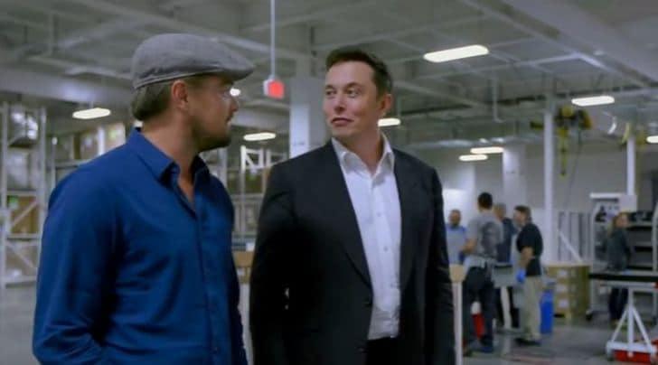 """DiCaprio da Tesla: """"Servirebbero 100 Gigafactory"""""""