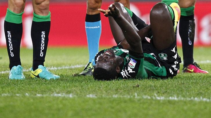 Serie A Sassuolo, per Duncan lesione alla caviglia