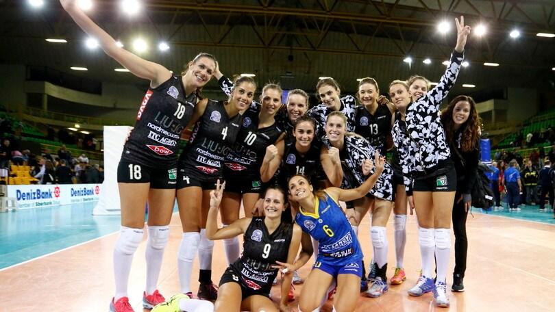 Volley femminile: la Liu Jo Nordmeccanica torna in campo