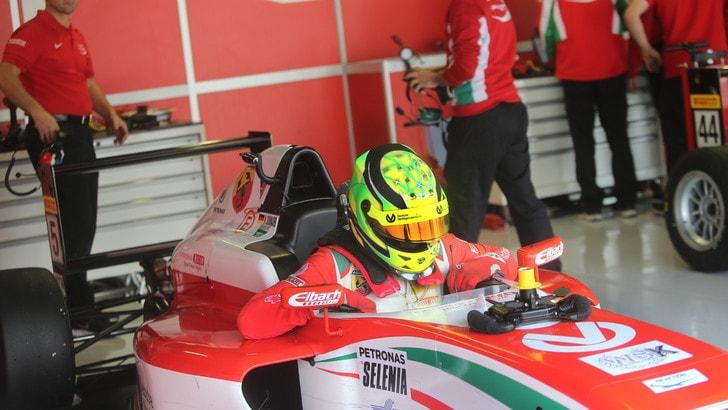 F3, Mick Schumacher chiude i test con Prema Powerteam