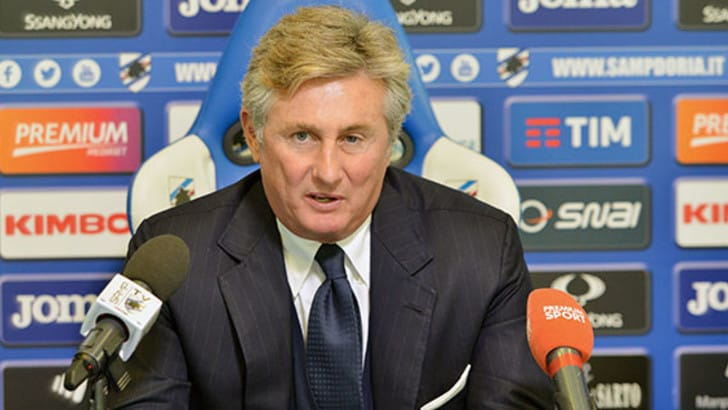 Sampdoria, Pradé si presenta: