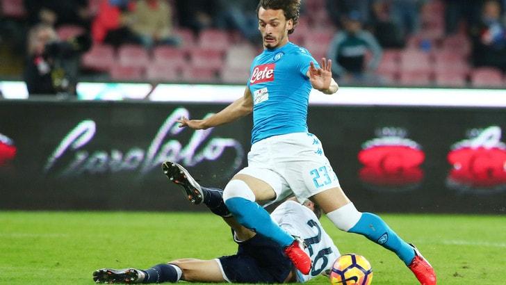 Serie A Napoli, a parte Albiol. Terapie Gabbiadini