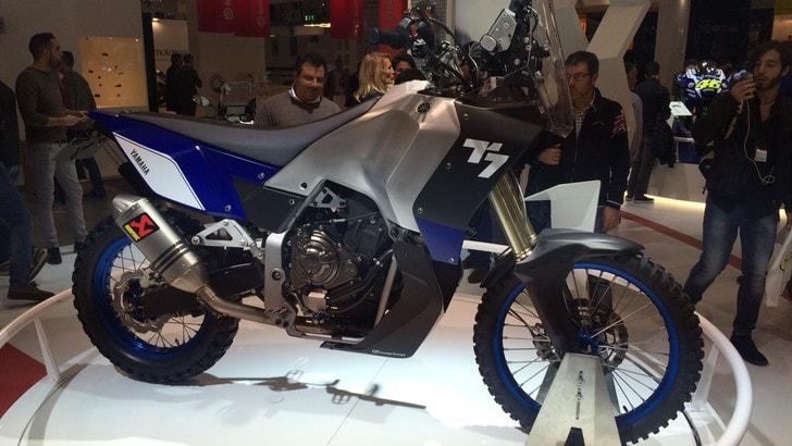 Eicma 2016: Yamaha T7 Concept, il vento della Dakar