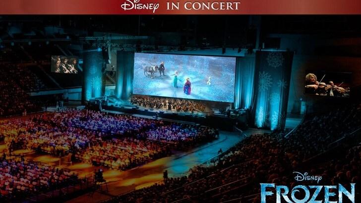 A gennaio arriva lo spettacolo di Disney in concert: Frozen