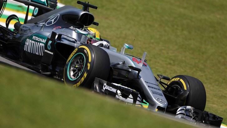 F1 Brasile: le Mercedes volano nelle libere, Vettel è settimo