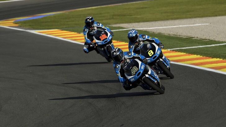 Moto2 Sky Racing Team VR46, Nieto: «Abbiamo tanto da lavorare»