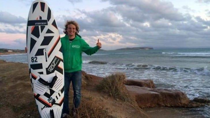 Cappuzzo conquista il titolo nazionale windsurf