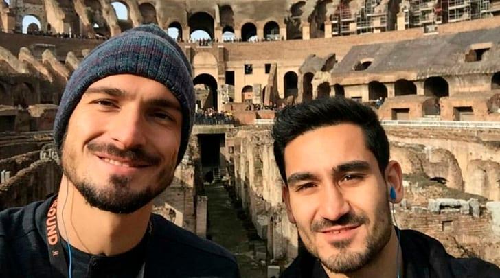 Germania,vacanze romane per i campioni del mondo