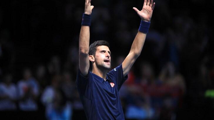 Finali Atp: Djokovic vince in rimonta, Thiem ko