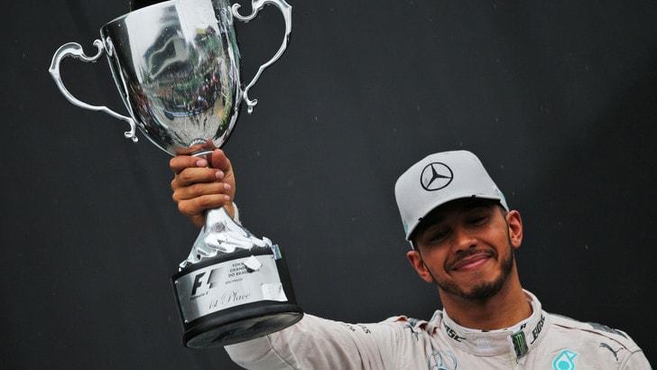 F1: Hamilton risale, ma il titolo a Rosberg vale 1,20