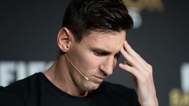 Messi si sente male in volo, Argentina in ansia
