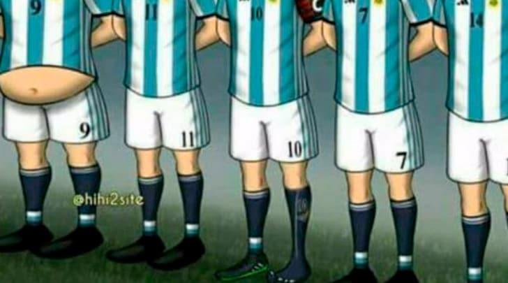 In Argentina non perdonano, Higuaìn ha la pancia