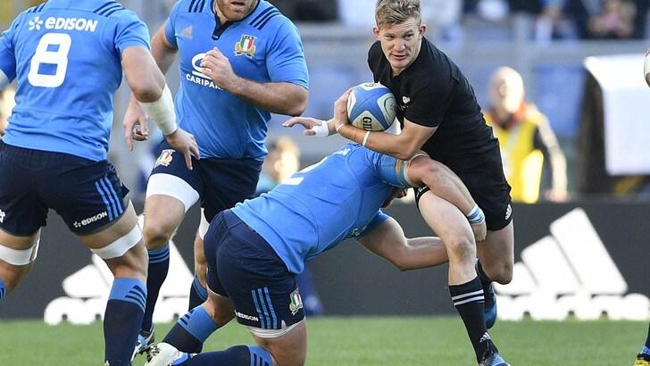 Rugby: Italia verso Sudafrica; O'Shea cambia 4 titolari