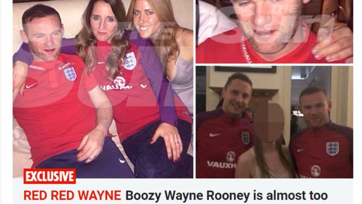 Rooney ubriaco, le foto scandolo fanno il giro dell'Inghilterra