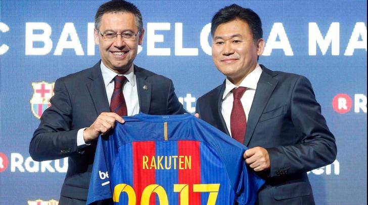 Barcellona, Rakuten nuovo sponsor: accordo da 55 milioni all'anno
