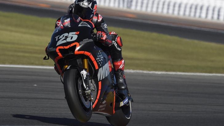 MotoGp, test Valencia: miglior tempo di Vinales, Rossi settimo