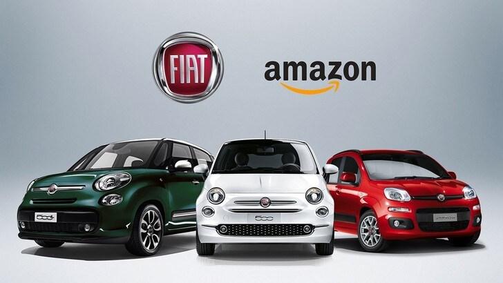 Fiat e Amazon insieme, per 500 e Panda sconti fino al 33%