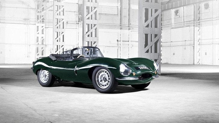 Jaguar XKSS, araba fenice sessantenne