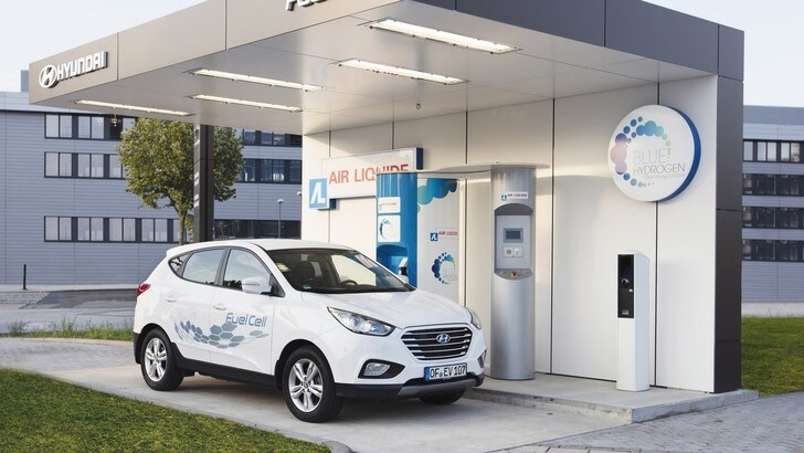 Hyundai apre una stazione per rifornire l'idrogeno