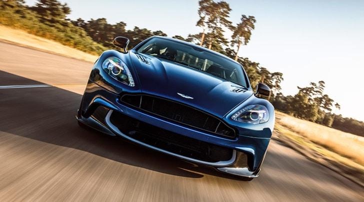 Aston Martin Vanquish S, quota 600 cavalli