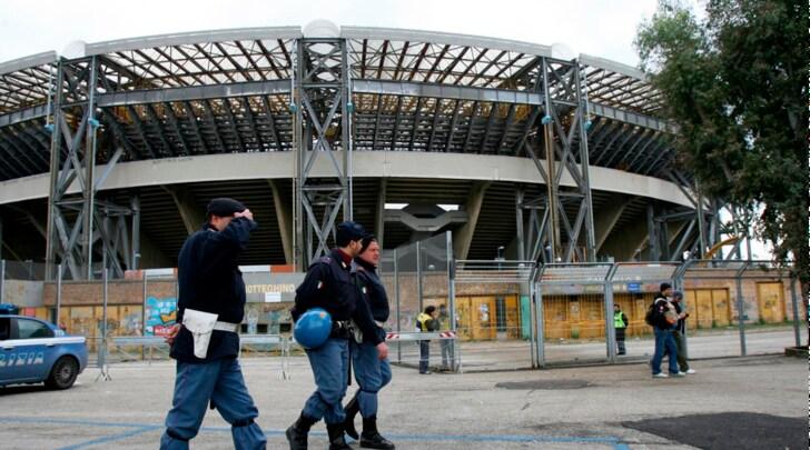 Napoli, aggredito tifoso della Dinamo Kiev: non è grave