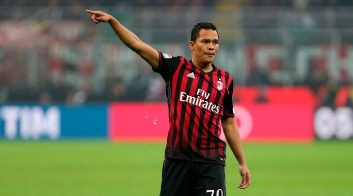Milan, problemi muscolari per Bacca, salterà l'Empoli