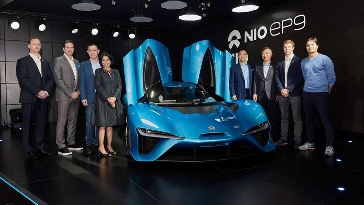 NextEV Nio EP9, la supercar elettrica del futuro