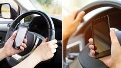 Pericolo smartphone al volante, l'allarme arriva dagli USA