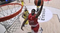 Basket Eurolega, Milano convince, ma passa il Fenerbahce