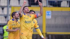 Serie B, Frosinone-Verona: il 43% gioca l'«1»