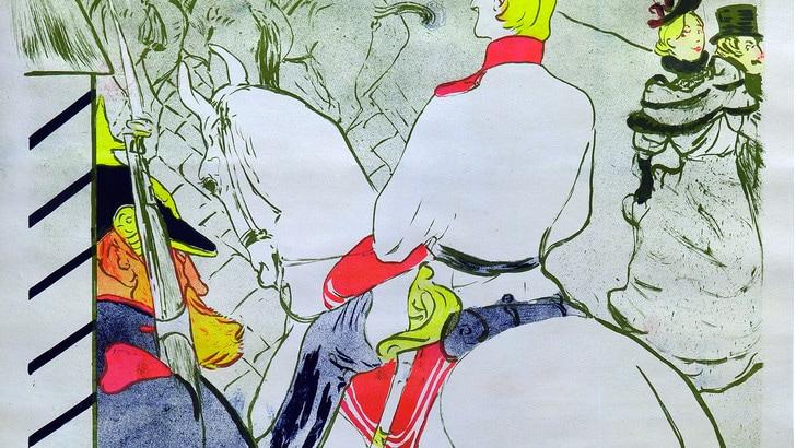 Toulouse lautrec la belle epoque sbarca a torino tuttosport for Lautrec torino