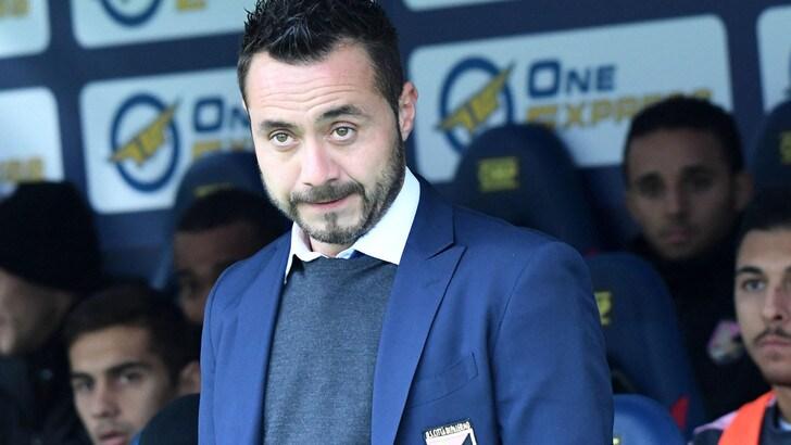 Serie A Palermo, De Zerbi: «Siamo in difficoltà»