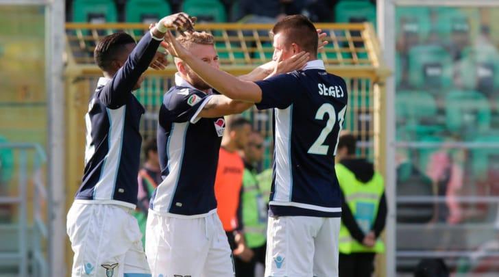 Serie A, Palermo-Lazio 0-1: Milinkovic-Savic inguaia De Zerbi