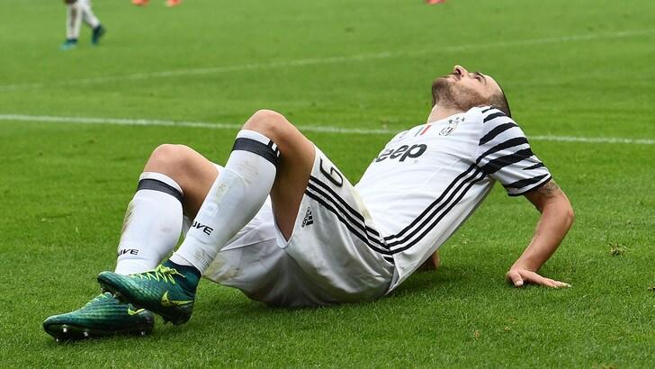 Cade la Juventus. Bonucci: «Ci rialzeremo. Come sempre»