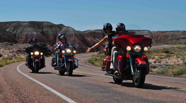 "Stati Uniti ""on the road"" con le icone Harley"