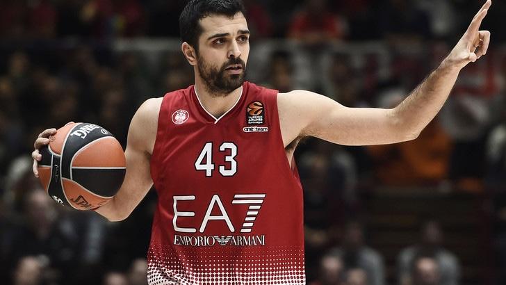 Basket, Olimpia Milano in difficoltà in Eurolega: il Kazan vince 100-79