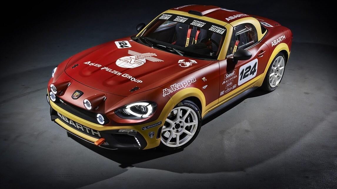 Motor Show 2016, Abarth 124 Rally infiamma l'Area 48