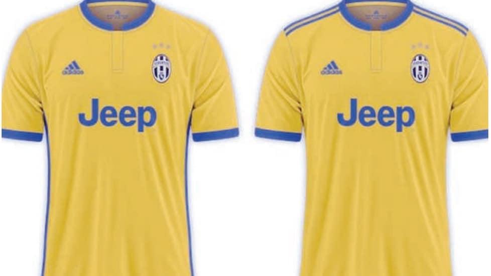 Seconda Maglia Juventus prima