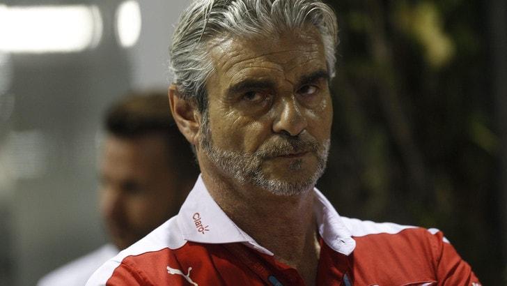 F1 Ferrari, Arrivabene: «Segnali positivi dopo Giappone e Abu Dhabi»