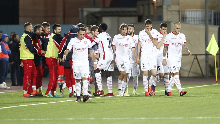 Serie B, Trapani-Carpi 0-1: decisivo Catellani. Calori in tribuna