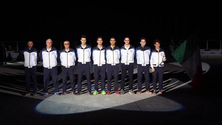 Mondiale volo Monaco, Italia quattro volte sul podio