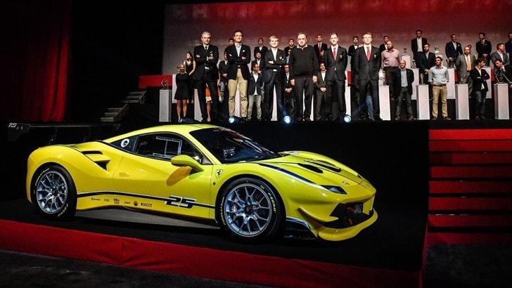 Ferrari 488 Challenge, è pronta per correre in tutto il mondo