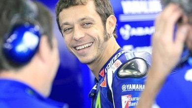 MotoGp Yamaha, Rossi a casa per proseguire il recupero