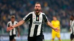 Juventus, Higuain: «Gol, mi sei mancato»